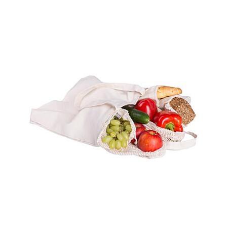 Tierra Verde Nákupní sada z biobavlny (4 typy sáčků a taška) 6 ks